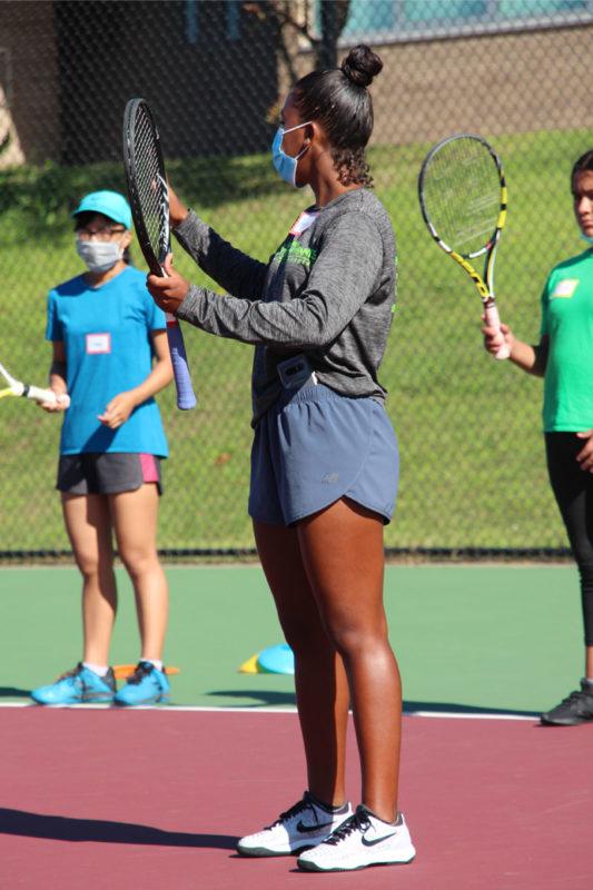 Amanye Reynolds Coaching Tennis