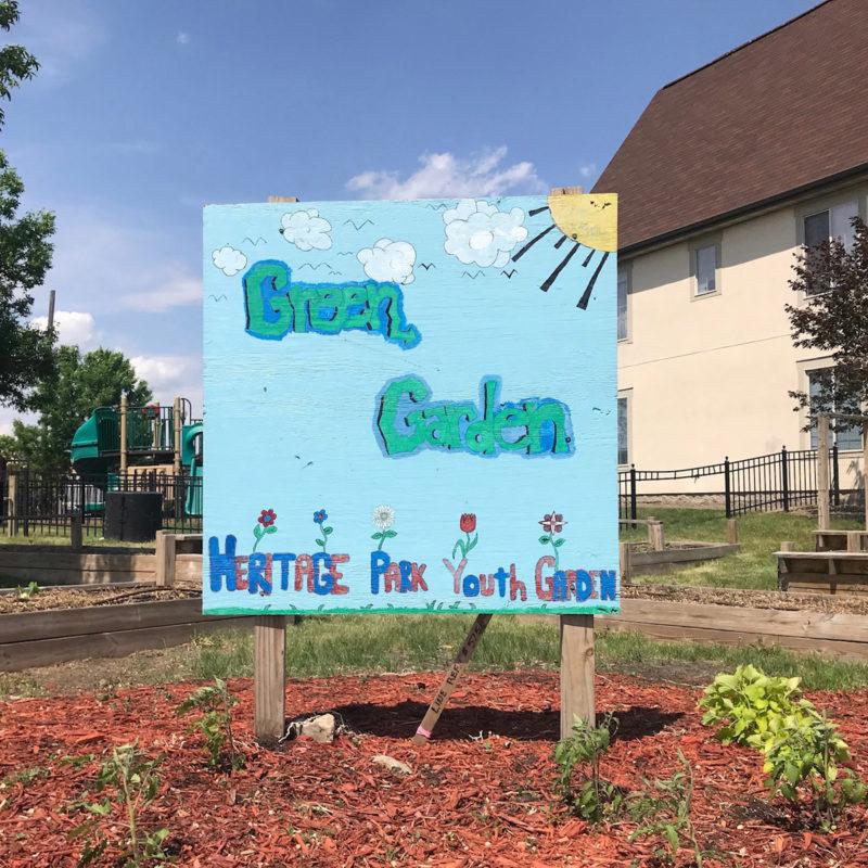 Green Garden Bakery Sign Minneapolis